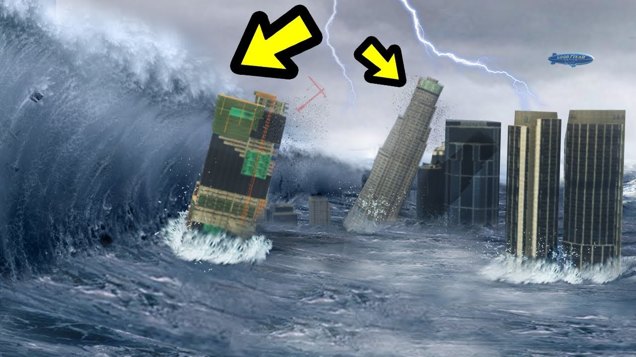 Gta  The Biggest Tsunami Ever