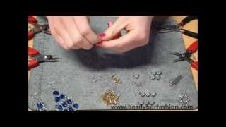 Jewelry making - DIY Project 9: Making dangling earrings Thumbnail