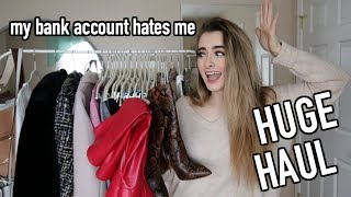 HUGE TRY ON HAUL | Forever 21, NastyGal, Nordstrom, Aldo, River Island