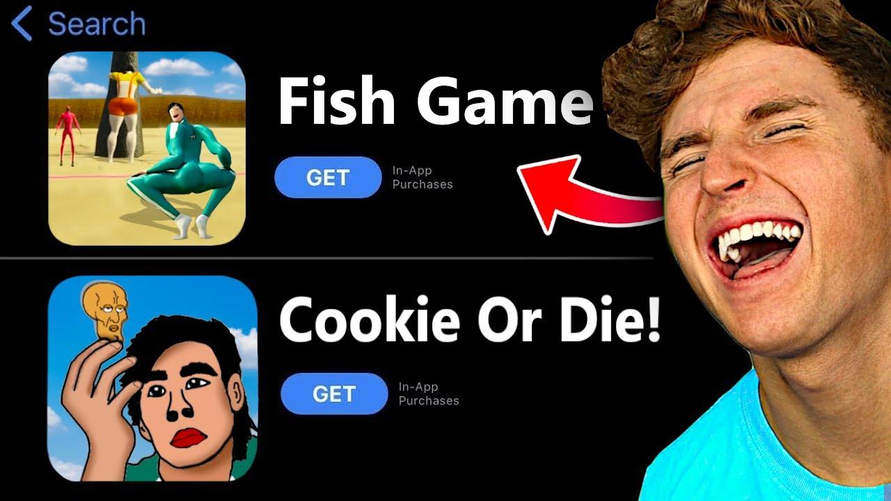 Testing Weird SQUID GAME APPS.. (LOL WTF)