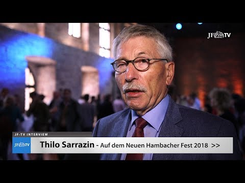 Thilo Sarrazin auf dem Neuen Hambacher Fest (JF-TV Interview)