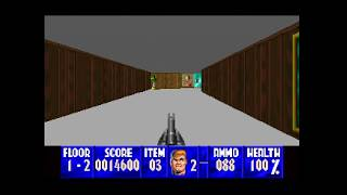 Wolfenstein 3D for 3DO Gameplay | Royalty-Free Footage