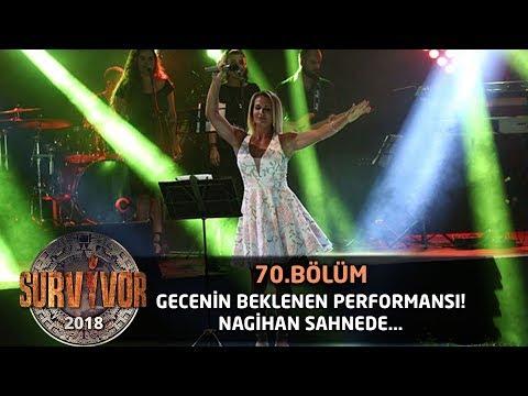 Nagihan Karadere 'Bebek' şarkısıyla sahnede... | 70. Bölüm | Survivor 2018