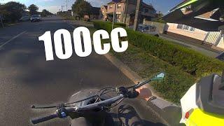Sprint ponovo na 100cc! Motovlog sa novom kacigom