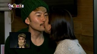 【TVPP】Noh Hong Chul - First Kiss with Jang Yoon ju, 노홍철 - 장윤주와 두근두근 첫 키스 @ Infinite Challenge