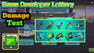 Game Developer Lottery Damage Test   Legendary And Mythical - Pixel Gun 3D