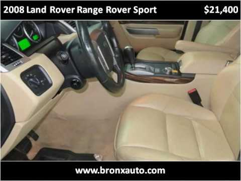 2008 Land Rover Range Rover Sport Used Cars Bronx NY - YouTube