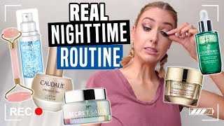 MY REAL NIGHTTIME ROUTINE... why am i so messy ahh