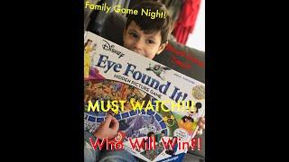 Board Game Time! Family Fun Night With Disney's Eye Found It! Super Fun!