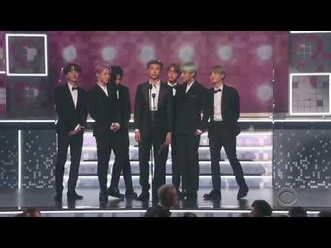 BTS Presenting Best R&B Album At The 61st Grammy Awards! 💜💜💜