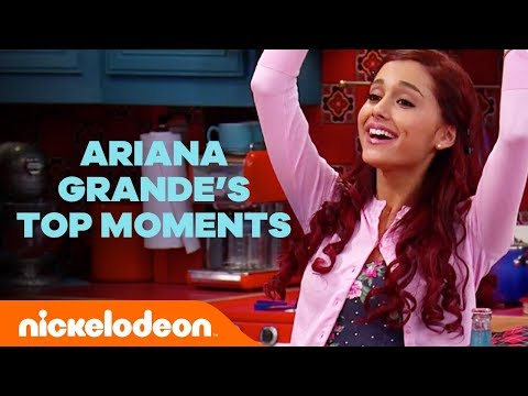 Ariana Grande's Best Moments from Victorious and Sam & Cat 🐱 | Nick
