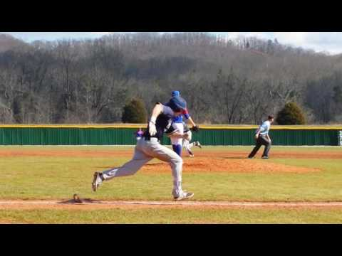 Chase Neibarger LHP 2/19/2017 vs Olney Central College 6th inning