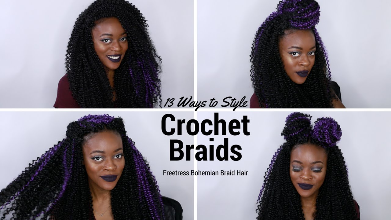 Crochet Braids W Freetress Bohemian Braid Hair Ways To Style 2016