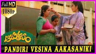 Pandiri Vesina Akasaniki Song || Aahwanam Telugu 1080p Full HD Songs  Srikanth , Ramyakrishna