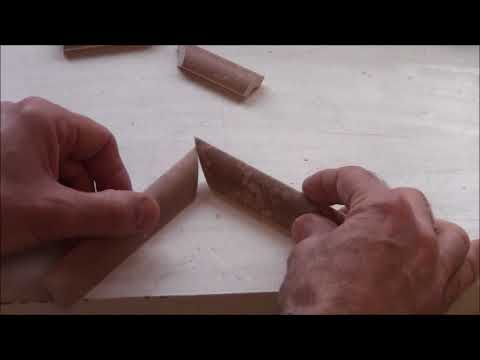 How to Cut Quarter Round Pencil Trim for a Shower Niche – DIY