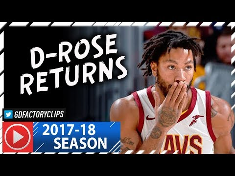 Derrick Rose RETURNS, Full Highlights vs Magic (2018.01.18) - 9 Pts in 13 Minutes