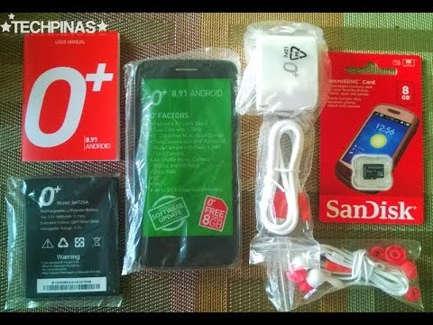 Let's talk about my New O Plus 8.91 Android Phone ( TAGLISH)