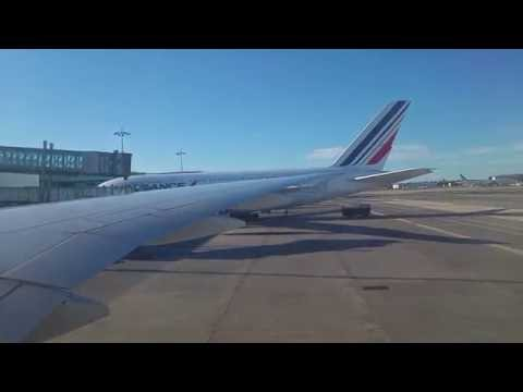 AF8 (Air France) taxi and take off from CDG (Paris) to JFK (New York) | 18.07.2016 r.