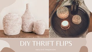 DIY THRIFT STORE FLIPS  Easy and Inexpensive
