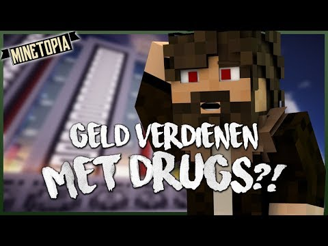 GELD VERDIENEN MET DRUGS?! - Minetopia Roleplay #2