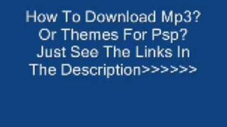 Download Themes And Mp3 For psp
