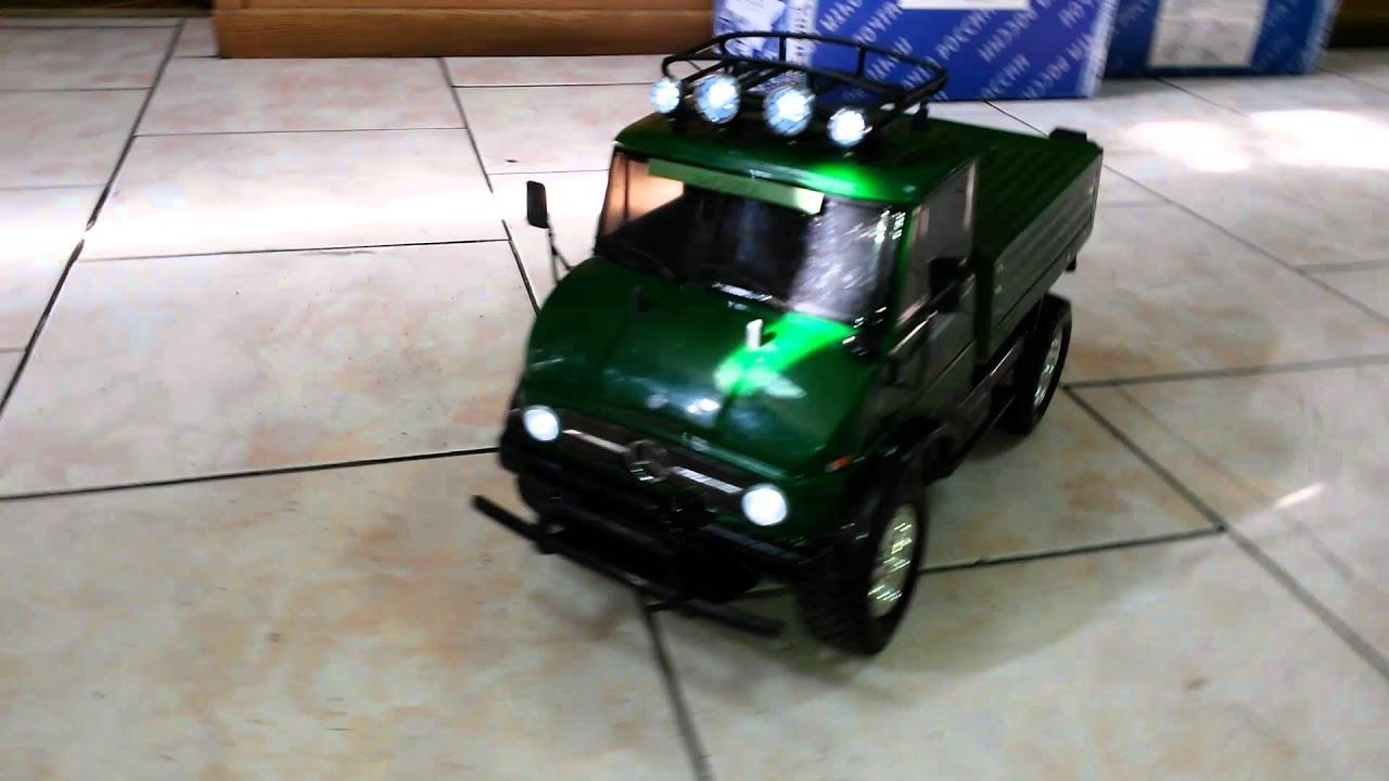 Автомодель tamiya mercedes-benz unimog 406 - cc-01 rtr - youtube