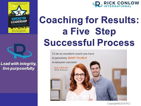 Leadership Coaching for Results: A 5 Step Successful Process for Managers and Leaders