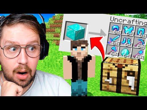 Minecraft, Mais je peux Décraft les Items ! ( C'est Cheaté )