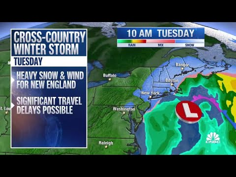 Live weather updates: Major winter storm arrives with heavy snow ...