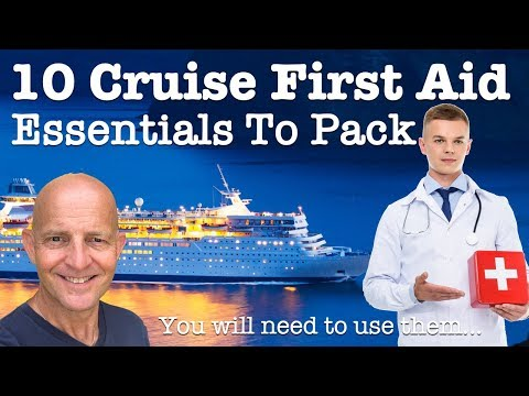 10 Cruise First Aid Kit Essentials To Pack. You Will Need To Use Them..!!
