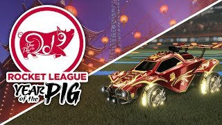Chinese New Year Event On Rocket League