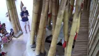 "Presentation of the ""Harp of Heart"" - Green School, Bali. By Rüdiger Schödel"