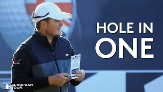 Eddie Pepperell's crazy hole in one