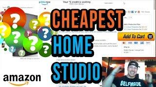 The Cheapest Possible Full Home Studio Setup Options