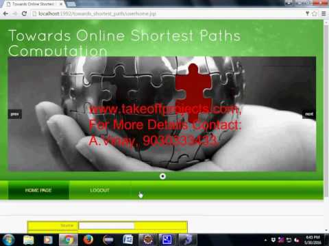 Towards Online Shortest Path Computation new