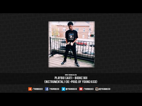 Playboi Carti - Broke Boi (Official Instrumental) [Prod. By Mexikodro]