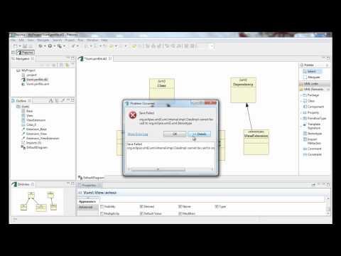 VUML - View based Unified Modeling Language