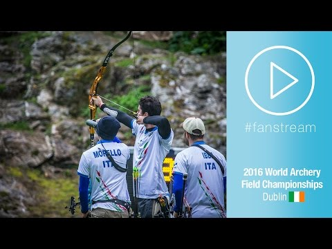 #FanStream: USA v Italy – Men Team Gold Final | Dublin 2016