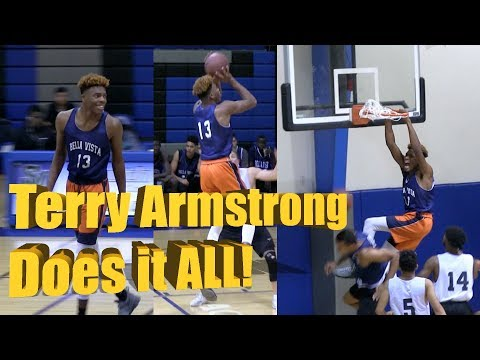 Terry Armstrong Shows All Around GAME at Bella Vista vs South Mountain Scrimmage