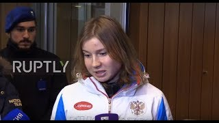 Switzerland: First appeal hearing over banned Russian athletes concluded in Geneva