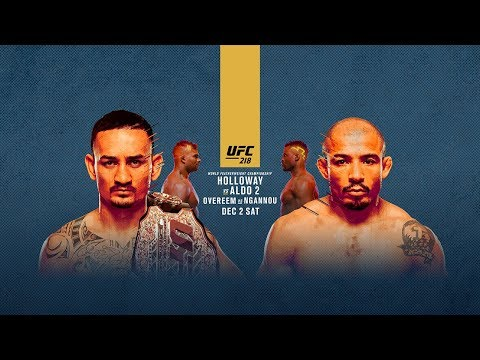 UFC 218: Holloway vs Aldo 2