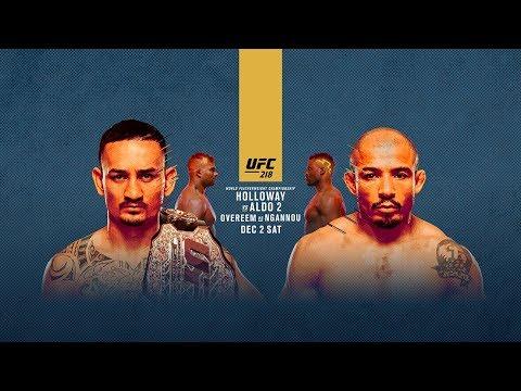 UFC 218: Holloway vs Aldo 2