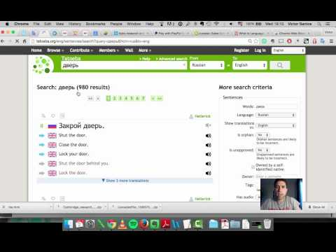 Online tools for language learning - Part 1
