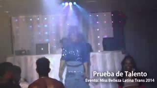 Repeat youtube video Moderno Sabrina - Miss Belleza Latina Trans 2014