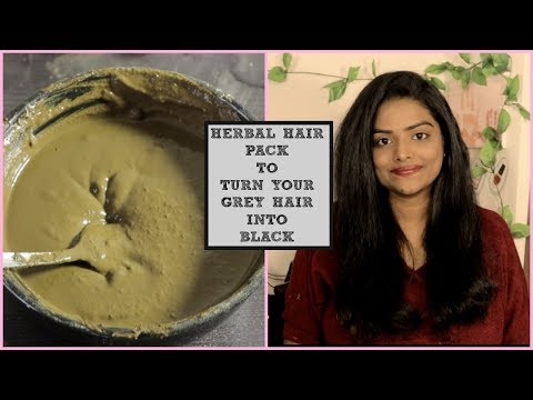 தமிழ் VLOG:HERBAL HAIR PACK TO TURN YOUR GREY HAIR IN TO BLACK||HAIR SPA