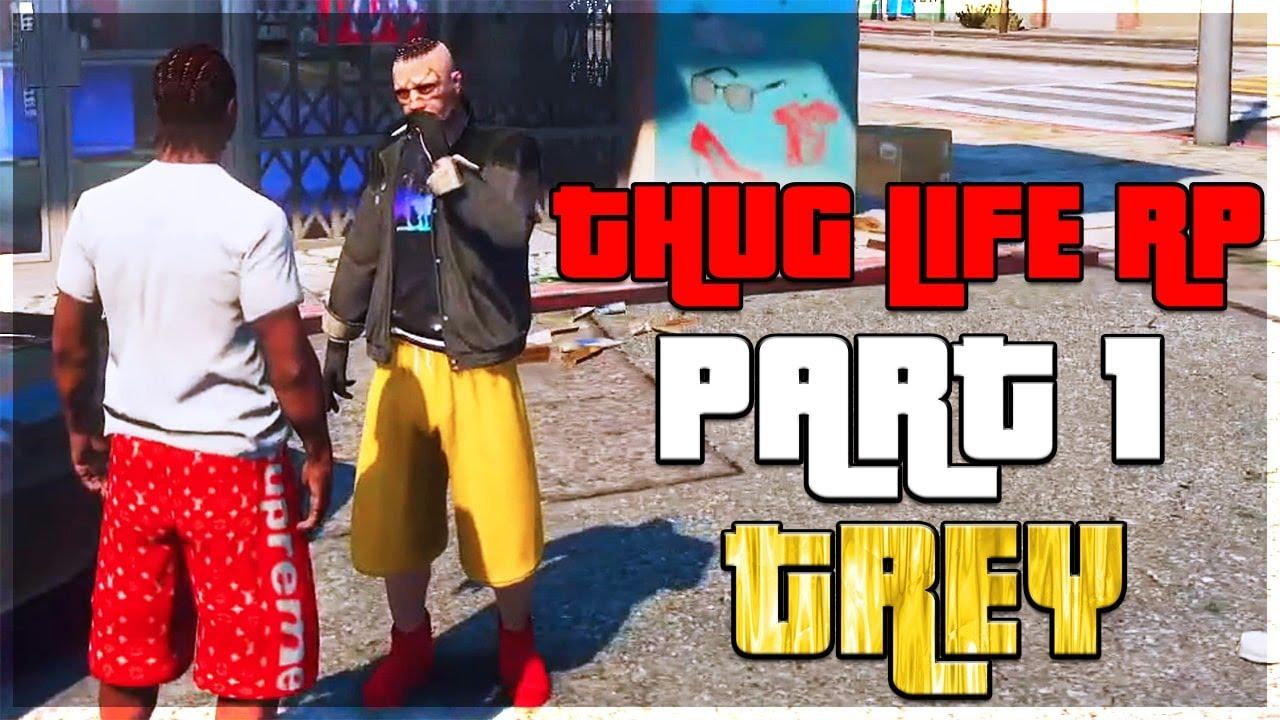 I Met The Funniest Gangsta Kid on GTA 5 RP | Thug Life EP.1