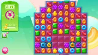 🍭🍬Candy crash jelly LV016 Прохождение, уровень 16, три в ряд, развивающая игра на андроид