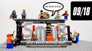 Sariel's Monthly Workshop Report 09/2018