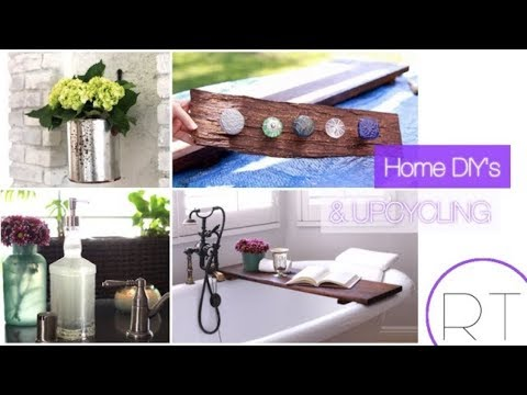 Upcycle & DIY Home Decor Ideas