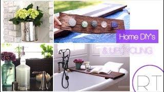 Upcycle & Diy Home Decor Ideas